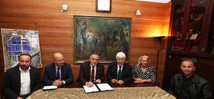 Bolu'da 41 milyon liralık arıtma tesisi protokolü