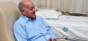 Kalp krizi geçiren eski büyükelçiye stent takıldı