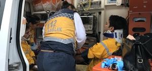 Denizli'de arazöz devrildi: 3 yaralı