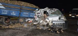 Muş'ta zincirleme trafik kazası: 1 ölü, 2 yaralı