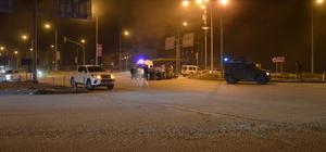 Ağrı'da zırhlı polis aracı devrildi: 1 yaralı
