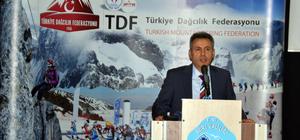 Türkiye Dağcılık Federasyonu yeni logosunu tanıttı