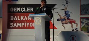 3. Uluslararası Gençler Balkan Güreş Şampiyonası