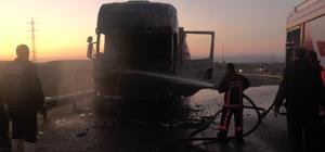 Ankara Çevre Yolu'nda tır yangını