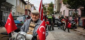 """Motosikletçilerden """"Demir Atlarla Cumhuriyet Korteji"""""""