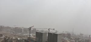 Şırnak'ta toz bulutu etkili oldu