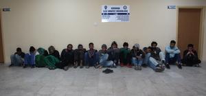 Hatay'da 15 yabancı uyruklu yakalandı