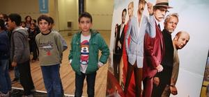 Dezavantajlı çocuklar ilk defa sinemayla tanışıyor