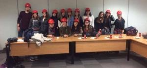 Üniversite öğrencilerinden mısır işleme fabrikasına teknik gezi