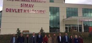 Simav'ın yeni hastane binası geçici hasta kabulü