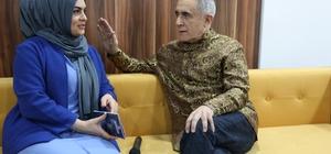 UNESCO ödüllü Azeri müzisyen ve kızı Başakşehirlileri mest etti