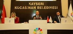 Kocasinan Belediyesi Kasım Ayı Meclis Toplantısı gerçekleştirildi