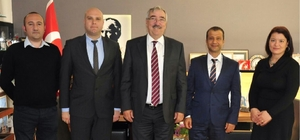 TREPAŞ yöneticileri, Lüleburgaz Belediye Başkanı Halabak ile görüştü