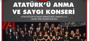 Germencik, Atatürk'ü sevdiği şarkılar ile anacak