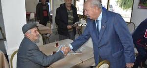 Başkan Albayarak, Çorlu, Çerkezköy, Kapaklı ve Saray'da incelemelerde bulundu