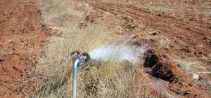 Ilgın'da 370 dekar tarım arazisi daha suya kavuşuyor
