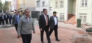 Muradiye Mahallesi'nin yolları yenileniyor