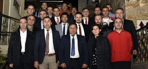 Türkiye Judo Federasyonu Başkanı Sezer Huysuz Gümüşhane'de