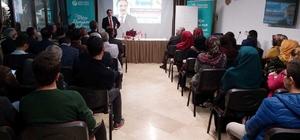 Rektör Bağlı, Lefkoşa'da konferans verdi