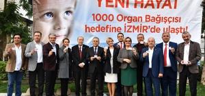 Organ bağışında İzmir farkı: Bin bağışçı hedefi 5 günde tamam