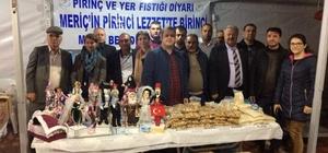 Meriç, pirincini ve yer fıstığını İstanbul'da tanıttı