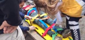 Bingöl'de trafik kazası:2 yaralı