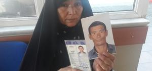 Afgan kadın,kaybolan oğlanı arıyor