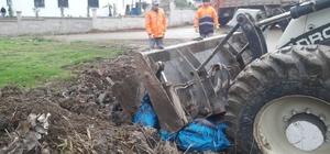 Hafriyat atıkları ile çevreyi kirletenlere uyarı