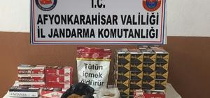 Taşoluk da tütün satıcılarına 10 bin 306 TL idari para cezası kesildi