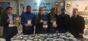 İstanbul'da bin 500 kişiye İpsala Pirinci dağıtıldı