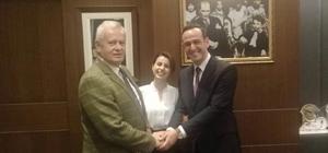 Nikahlarını kıydığı çiftten Başkan İnönü'ye teşekkür ziyareti