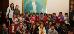 Ekolojik kreş öğrencileri Atatürk Evi'nde