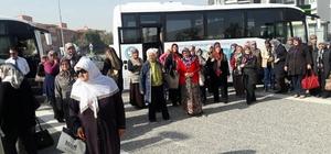 Ahmetlili kadınlar Manisa'yı gezdi