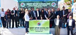 Kepez'e yeni semt spor sahaları