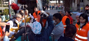 Manisa'da 7.2 şiddetinde deprem tatbikatı