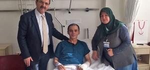 """Başkan Şahin: """"Yaralı askerimizin durumu iyi"""""""