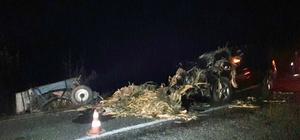 Kastamonu'da trafik kazası: 2 yaralı