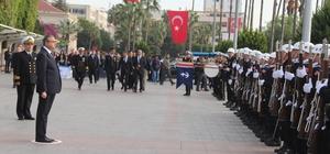 Atatürk, ölümünün 79. yılında Mersin'de törenlerle anıldı