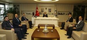Başhekim Zengin'den Başkan Tahmazoğlu'na destek teşekkürü