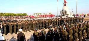 İskenderun'da Atatürk'ü anma töreni