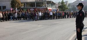 Hatay'da Atatürk'ü anma töreni