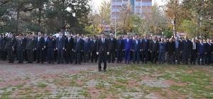Muş'ta 10 Kasım Atatürk'ü Anma Günü