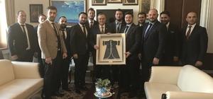 MAGİAD üyeleri Ankara'da vekillerle buluştu