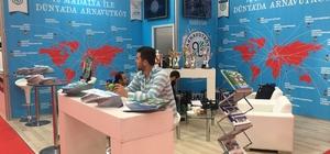 Spor fuarındaki Arnavutköy Belediyesi standına yoğun ilgi