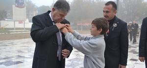 Ayvacık'ta 10 Kasım Atatürk'ü Anma Programı düzenlendi