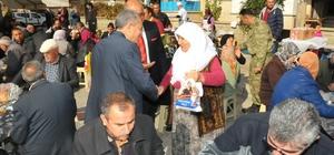 Akşehir Belediyesinden Şehit Uzman Çavuş için Mevlid-i Şerif
