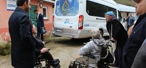 Görele Kaymakamı Ermiş'ten engelli ve yaşlılara ziyaret