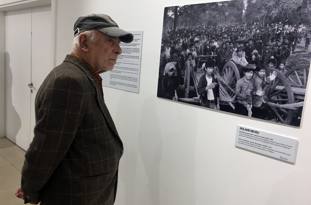 Beşiktaş'ta mülteci krizine dikkat çekmek için fotoğraf sergisi açıldı