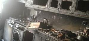 Mutfakta başlayan yangın evi kül etti