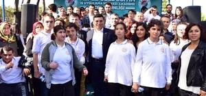 Kepez Belediyesi 170 özel çocuğu Kepez Macera Ormanı'nda ağırladı